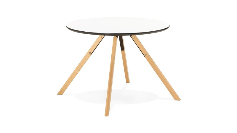 table manger ronde de cuisine scandinave natz gdegdesign. Black Bedroom Furniture Sets. Home Design Ideas
