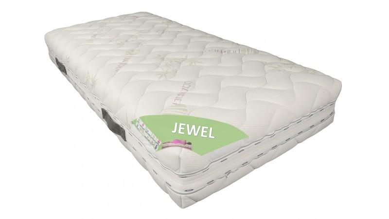 matelas 140x190 cm double mousse m moire de forme jewel gdegdesign. Black Bedroom Furniture Sets. Home Design Ideas