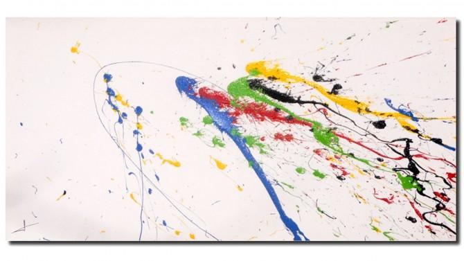 Peinture colorée rectangulaire - Doha
