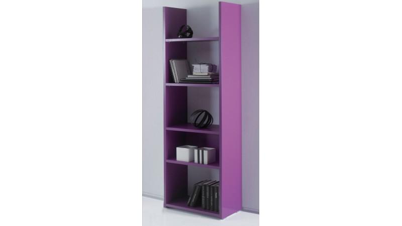 biblioth que mirko en bois 6 couleurs avec grands casiers gdegdesign. Black Bedroom Furniture Sets. Home Design Ideas
