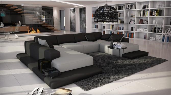 canap d angle noir et gris excellent canap d angle gris convertible unique petit canap d angle. Black Bedroom Furniture Sets. Home Design Ideas