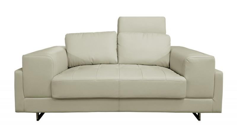 canap 2 places vlad en cuir simili avec appuie t tes r glables gdegdesign. Black Bedroom Furniture Sets. Home Design Ideas
