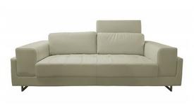 Canapé moderne cuir simili 3 places - Vlad