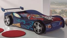 Lit simple enfant voiture 90x200 cm - Ruper