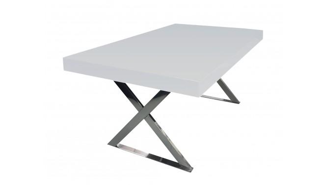 Table à manger laquée rectangulaire - Dyxon