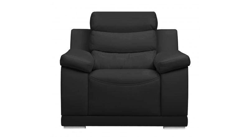 fauteuil de salon design en cuir de haute qualit goran gdegdesign. Black Bedroom Furniture Sets. Home Design Ideas