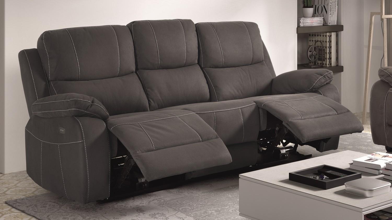 Agencez Votre Salon Avec Notre Gamme De Canapé Et Places - Canapé 3 places pour salon en l moderne