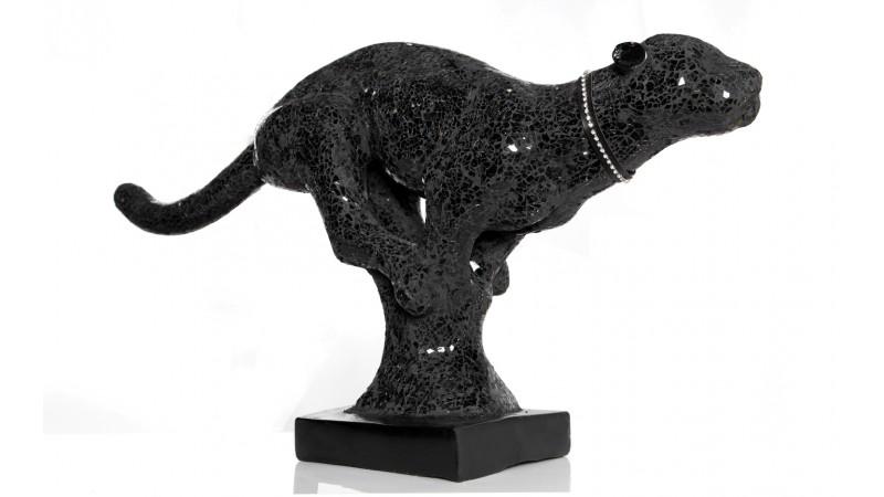 Statue Panthère Noire : statue panth re noire design en r sine mosa que lagos gdegdesign ~ Teatrodelosmanantiales.com Idées de Décoration