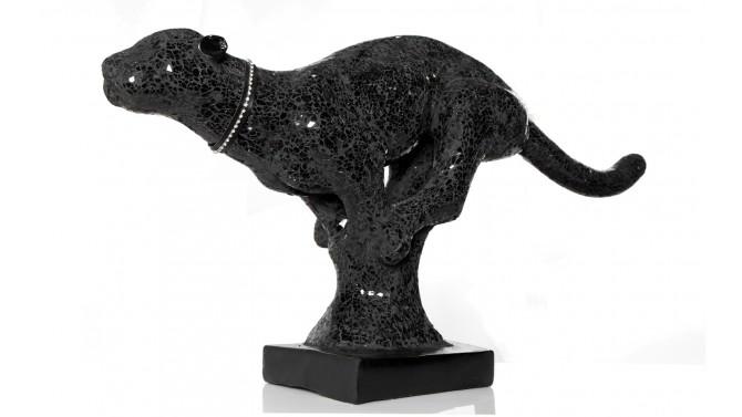 statue panth re noire design en r sine mosa que lagos. Black Bedroom Furniture Sets. Home Design Ideas