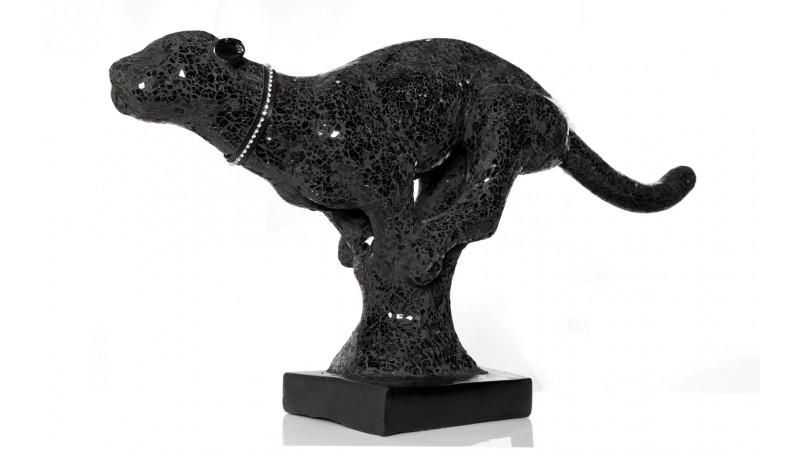 statue panth re noire design en r sine mosa que lagos gdegdesign. Black Bedroom Furniture Sets. Home Design Ideas
