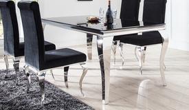 Table à manger baroque rectangulaire - Zita