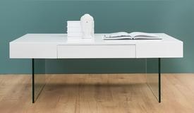 Table basse rectangulaire avec rangement - Paz