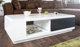 Table basse design tiroir pivotant - Maxan