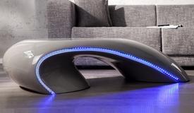 Table de salon design lumineuse - Moscow