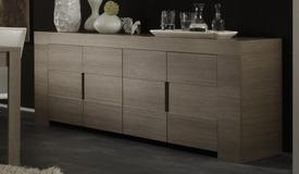 Buffet design en bois 4 portes - Boris