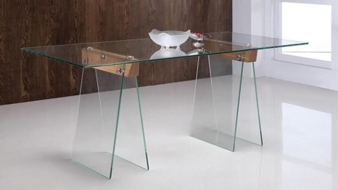 table manger istanbul en verre tremp transparent gdegdesign. Black Bedroom Furniture Sets. Home Design Ideas