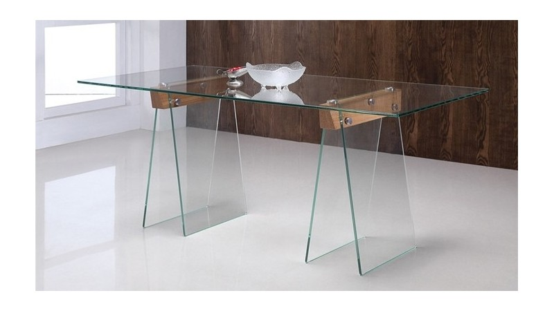 table manger istanbul en verre tremp transparent gdegdesign. Black Bedroom Furniture Sets. Home Design Ideas