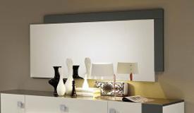 Miroir mural rectangulaire et design - Turin