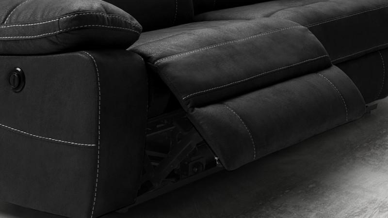 canap de relaxation moderne 2 places lectrique adana gdegdesign. Black Bedroom Furniture Sets. Home Design Ideas
