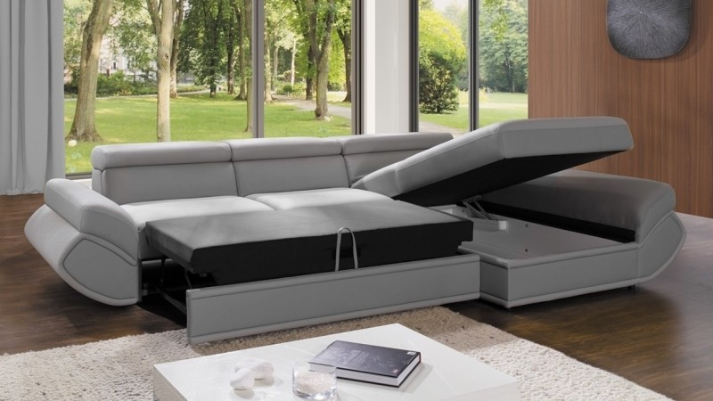 canap d 39 angle design convertible avec m ridienne cameron gdegdesign. Black Bedroom Furniture Sets. Home Design Ideas