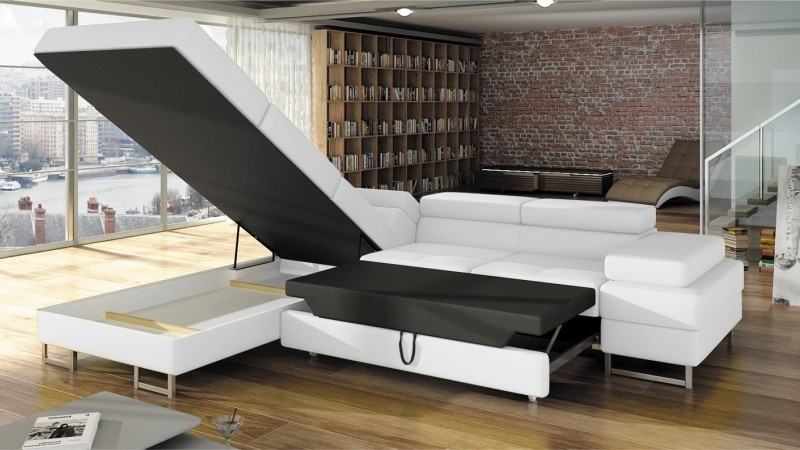 canap d 39 angle design convertible fedor en simili cuir gdegdesign. Black Bedroom Furniture Sets. Home Design Ideas