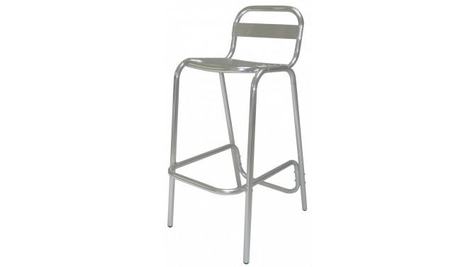 Chaise haute de bar en métal - Jarno