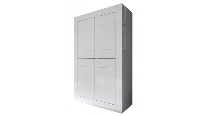 Buffet haut design 4 portes laqué - Lernig