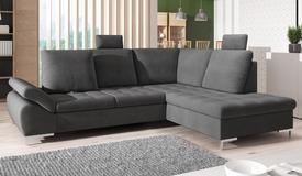 Canapé d'angle design dossiers réglables - Kimi