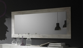 Miroir design cadre bois - Hazel