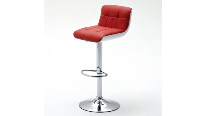 Tabouret de bar design simili cuir - Joe