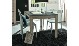 Table à manger bois plateau ardoise - Aspar