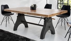 Table à dîner industrielle réglable - Taylor