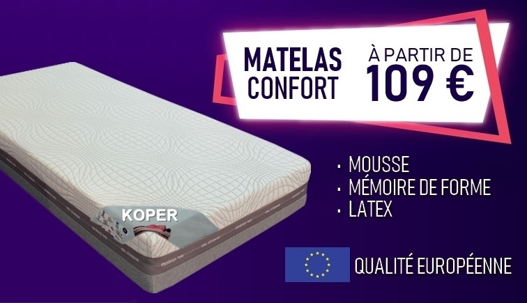 MATELAS CONFORT - GDEGDESIGN